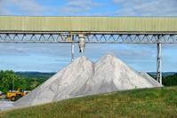 Pile of Rock Salt