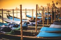 venice gondolas on the lagoon