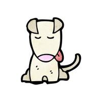 carton little dog