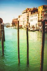 venice gondolas on canal grande