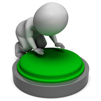 Pushing Green Button Shows Start