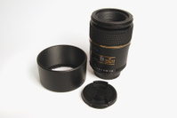 Digital camera macro lens.
