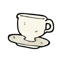 cartoon teacup