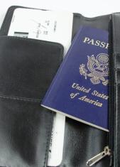 Boarding Pass and USA Passport