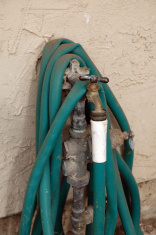 Old garden hose