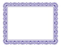 Blank Certificate Letter Size