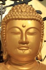 Buddha der Welt Friedens Pagode in Pokhara Nepal