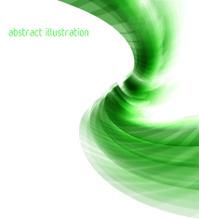 Abstract swirl shape illustration