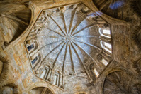 Romanesque dome of the old cathedral in Plasencia