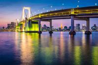 Tokyo Japan at Tokyo Bay