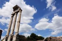ancient column in Roman Forum