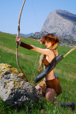 The archer girl