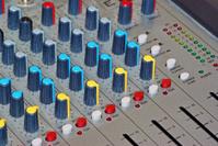 Audio channel mixer