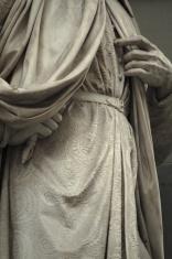 Statue outside the Uffizi, Florence, Italy