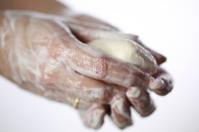Washing Hands Closeup