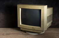 old computer moniter