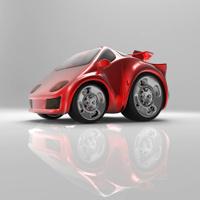 Sportwagen Blaupause Stockfotos - FreeImages.com