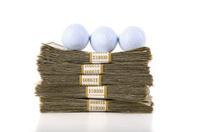 Golf Balls and Cash