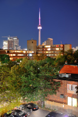 Toronto urban buildings