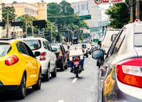 Rush hour in Sao Paulo