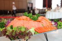 slice smoke salmon