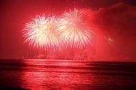 fireworks in Dubai ,UAE