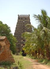 Architecture : India  Kanchipuram Temple