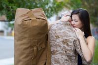 Military Man Says Goodbye
