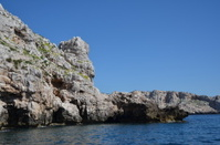 cliff at capo caccia