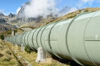 Pipeline, European Alps