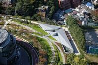 Aerial view of Minato-ku areas