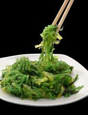 Wakame salad.