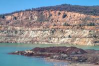 Copper mine near Elshitsa, Bulgaria