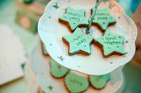 The cake; Dessert;