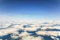 Cloud sky view from aeroplane window