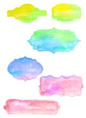 Watercolor Headers