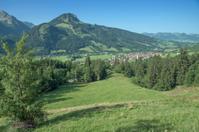 Bad Hindelang near Sonthofen,Bavaria,Germany