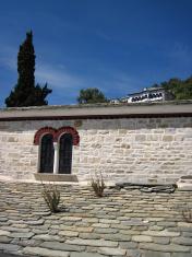 Greek church detail