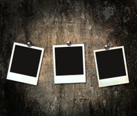 vintage frame photo black dark  abstraction grunge  background