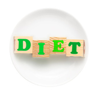Dieting concept