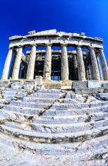 Greece, Athens, the Parthenon.