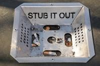 Stub it out ashtray