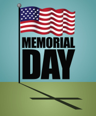 Memorial Day design.