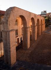 Los Pilares Aqueduct,  Oviedo