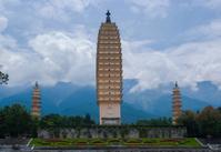 Three Pagodas, San Ta, Dali, Yunan, China