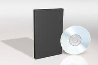 blank cd and box