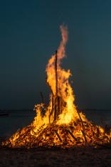 Easter bonfire