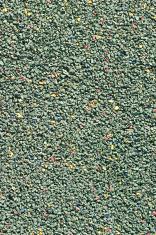 green rubber floor