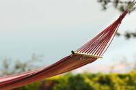 Pink hammock