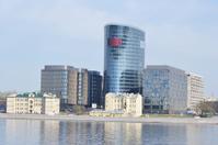 View of modern building, St.Petersburg.